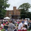 Hertford is alive today. Rock at the Castle li...