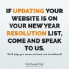 If getting a new website is on your new years r...