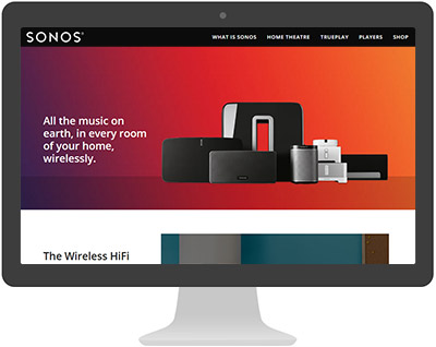 Screenshot of SONOS