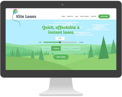 Screenshot of Kite Loans