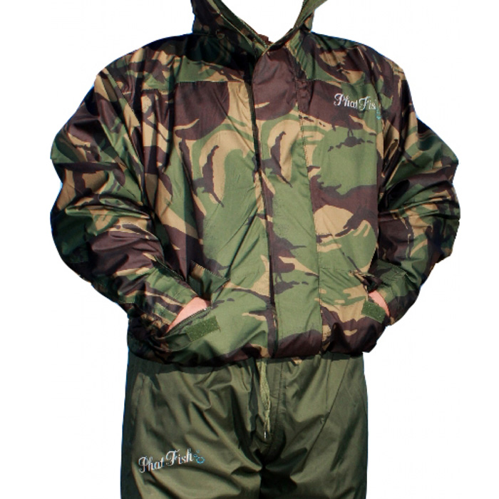 phat fish clothing waterproof coat and trousers