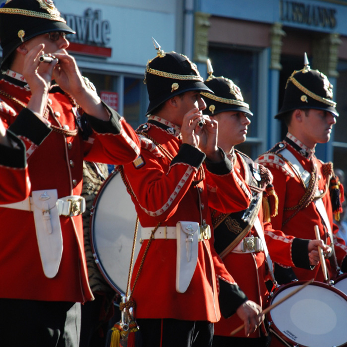 hertford live army band music