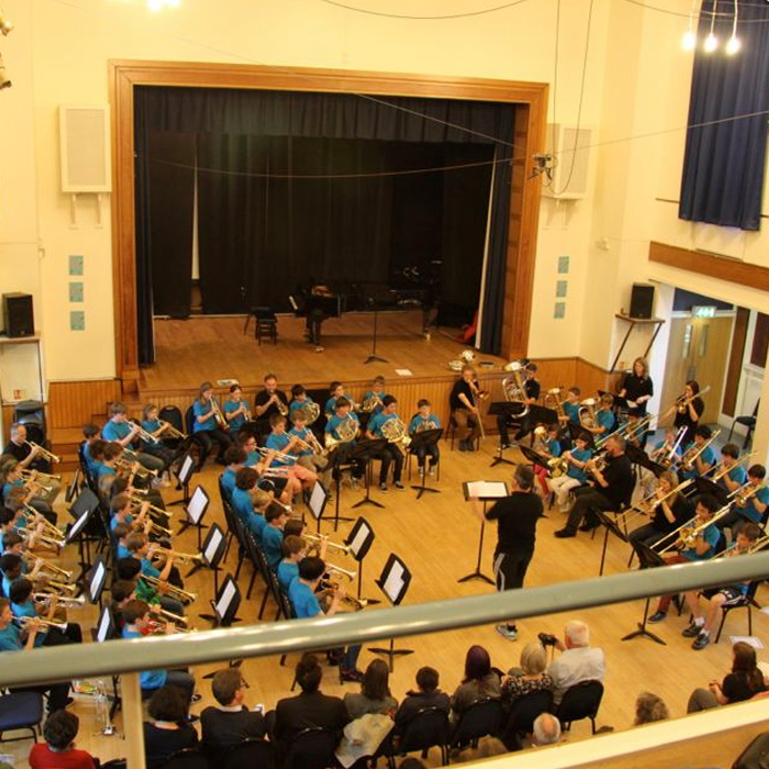 brass band hall