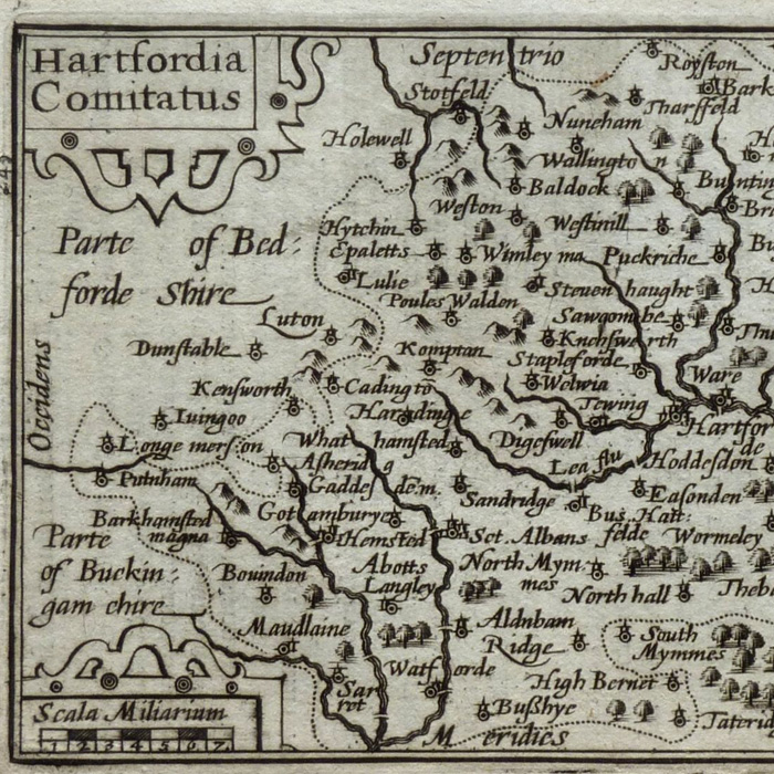 hertfordshire old map