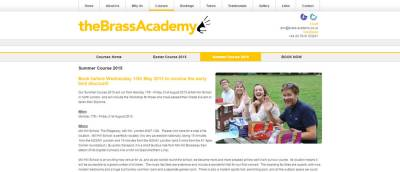 brass academy summer course  screenshot