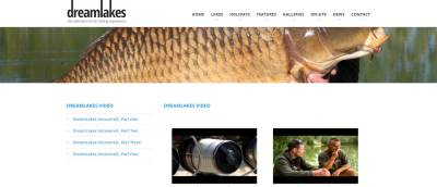 dreamlake video page