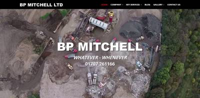 BP Mitchell homepage video screenshot