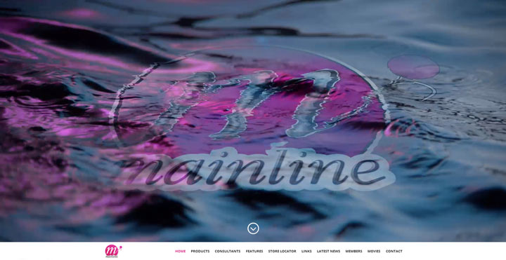 Mainline Baits Website showing good use of stock imagery and high resolution photographs